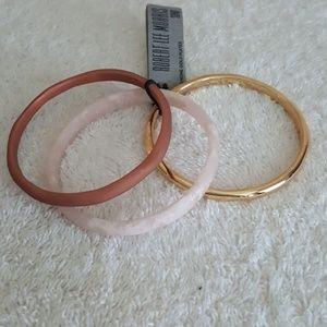 New Robert Lee Morris Sculptural Bracelets (3)